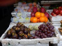 Mangustan, cherymoja, winogrono